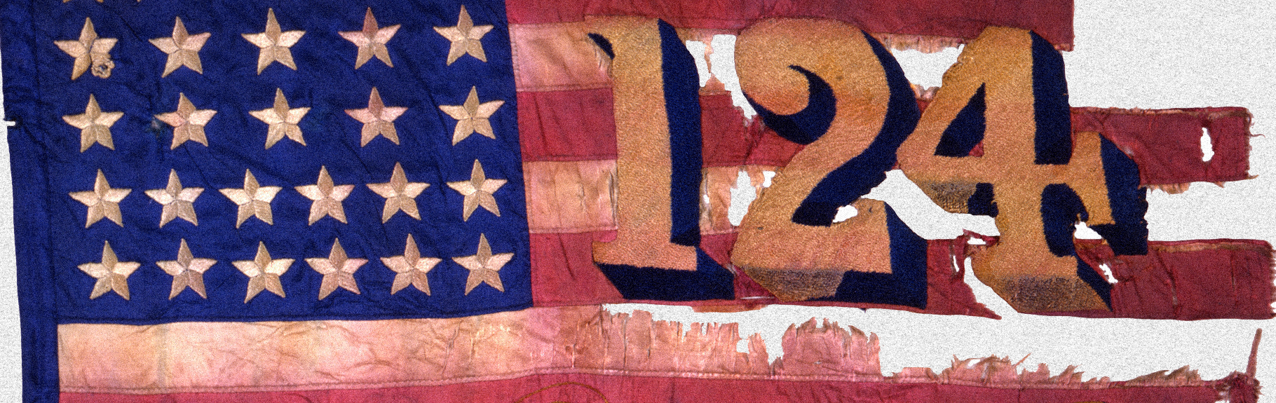 Battle Flag of the NY 124th