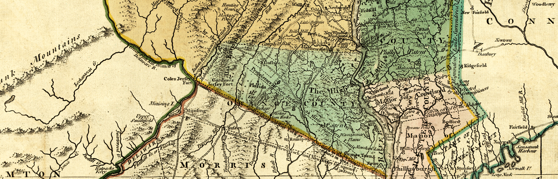 Detail of 1776 Major Holland Map