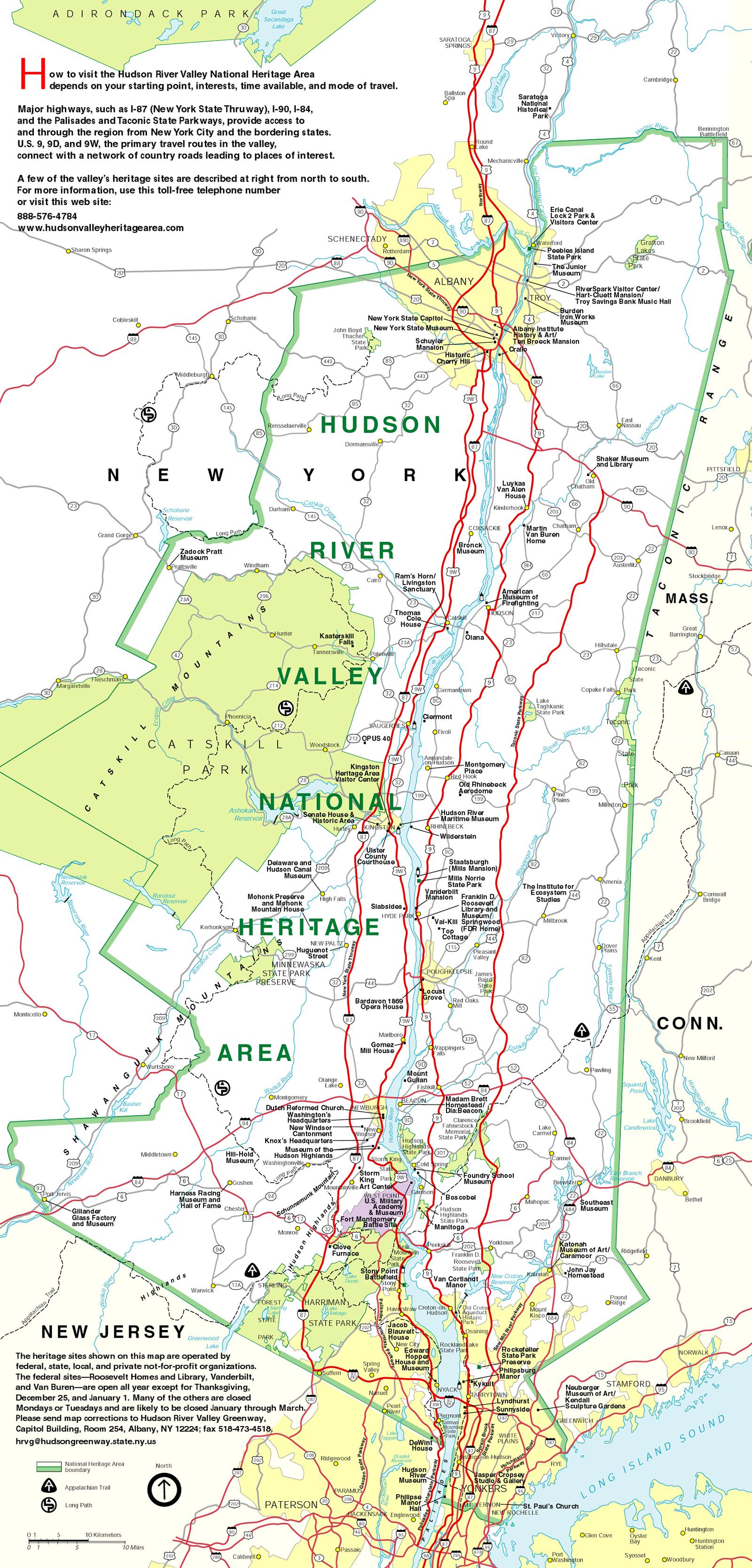 Hudson River Valley Map - HRVI on